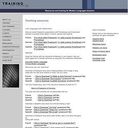 Training for Learning