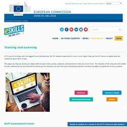training and learning - e-Skills