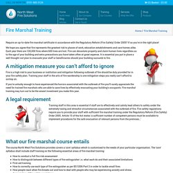 Fire Marshal Training Cheshire, Liverpool & Wirral