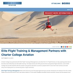 Charter College Aviation