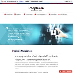 Hr Software-Training Management-pay roll software