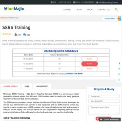 SSRS Training: Live SSRS Online Training By Expert Trainers
