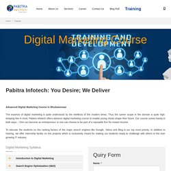 Advanced Digital Marketing Course in Bhubaneswar