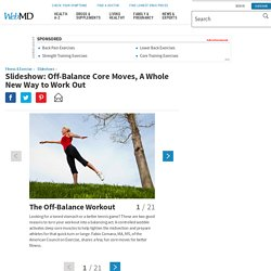 Core Training Workout Slideshow: Flat Abs, Strength, and Balance