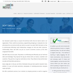 Get High Value Soft Skills Training without the Potential High Cost through Ladders Institute