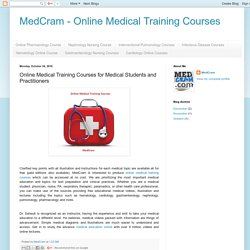 MedCram - Online Medical Training Courses: Online Medical Training Courses for Medical Students and Practitioners