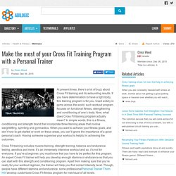 Cross Fit Training Program with a Personal Trainer Richmond Hill