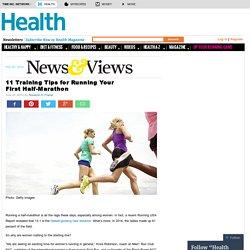 11 Training Tips for Running Your First Half-Marathon