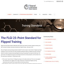 Training Standards