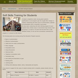 Soft Skills Training for Students