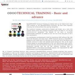 Odoo Training - Odoo Technical Training
