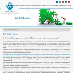 Soft Skills Trainer - Helps you in Soft skill Training