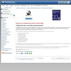 HTML5 First Look - Free Video Training Tutorials, Free Lynda.com Inc. Online Tutorial