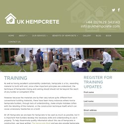 Training - UK Hempcrete