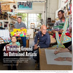 A Training Ground for Untrained Artists