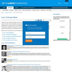 Linux Training Videos - Linux Foundation Training