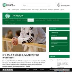 DFB-Training online: Winterzeit ist Hallenzeit!