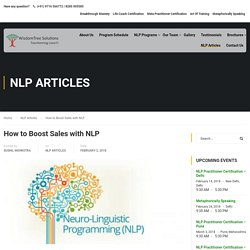 NLP Training with WisdomTree Solutions