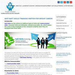 Soft Skills TrainingTo improvement in Personal Skills