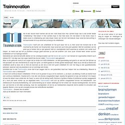 Weblog Trainnovation