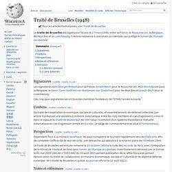Traité de Bruxelles (1948)