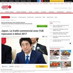 Japon. Le traité commercial avec l'UE repoussé à début 2017