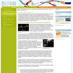 Traité de Rome : De la CECA à l'échec de la CED