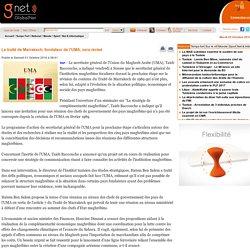 Le traité de Marrakech, fondateur de l'UMA, sera révisé