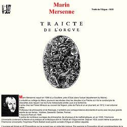 Traité de l'orgue - Mersenne