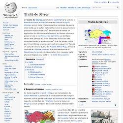 Traité de Sèvres 1920