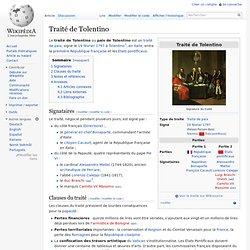 Traité de Tolentino