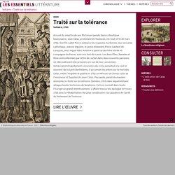 Traité sur la tolérance : présentation du livre de Voltaire