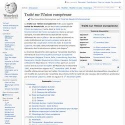 Traité sur l'Union européenne