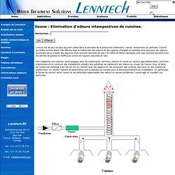 LENNTECH - Ozone : Elimination d'odeurs intempestives de cuisines.