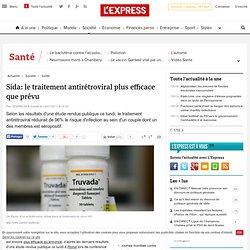 Sida: le traitement antirétroviral plus efficace que prévu