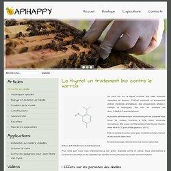 Le thymol: un traitement bio contre le varroa - Apiculteur en Essonne: essaims, reines et miel