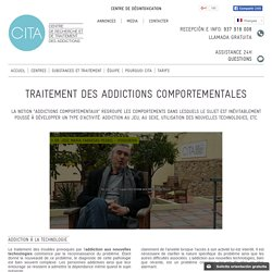Traitement des addictions comportementales