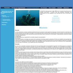 Caisson Hyperbare - Traitement accident de décompression en plongée sous marine