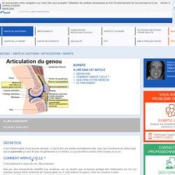 Bursite : symptômes, traitement, définition - docteurclic.com
