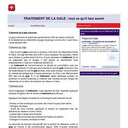 TRAITEMENT DE LA GALE - Tout ce qu'il faut savoir sur le traitement de la gale