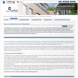 INSTITUT COCHIN - 2010 - Vers un traitement de l'hépatite E