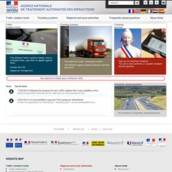 ANTAI : Agence Nationale de Traitement Automatisé des Infractions