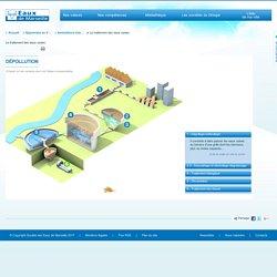 Le traitement des eaux usées / Animations interactives / Apprendre en s'amusant / SEM - Société des Eaux de Marseille