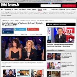 """Léa Salamé dénonce le """"traitement de faveur"""" d'Isabelle Mergault dans ONPC"""