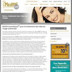 Botox Montréal, Laval, Clinique Dermatologie Esthétique – Traitement des rides du visage