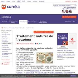 Traitement naturel de l'eczéma - Ooreka