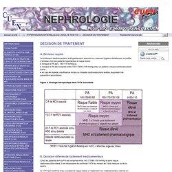 DÉCISION DE TRAITEMENT - Nephrologie