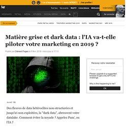 Traitement de la data : les nouveaux usages de l'IA en 2019