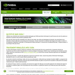 OpenCL pour NVIDIA