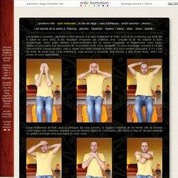 Auto-traitement Reiki - Positions suggérées